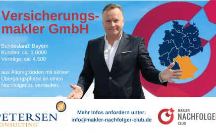 Petersen Consulting Makler Nachfolger Club Oliver Petersen